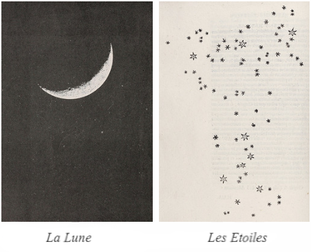 la lune les etoiles